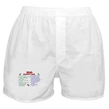 Pug Property Laws 2 Boxer Shorts