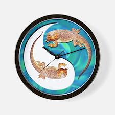 Yin Yang Bearded Dragon Wall Clock