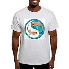 Yin Yang Bearded Dragon T-Shirt