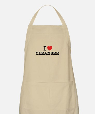 I Love CLEANSER Apron