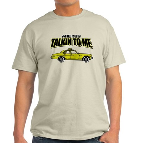Movie Humor Taxi Driver Light T-Shirt