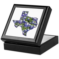 TX Bluebonnets Keepsake Box