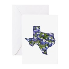 TX Bluebonnets Greeting Cards (Pk of 20)
