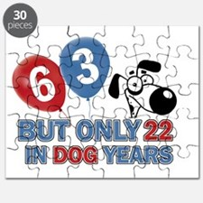 Funny 63 Years Old Birthday Puzzle