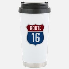 Route 16 Sign Travel Mug