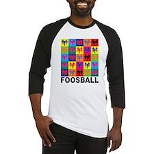 Pop Art Foosball Baseball Jersey