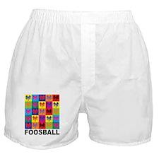 Pop Art Foosball Boxer Shorts
