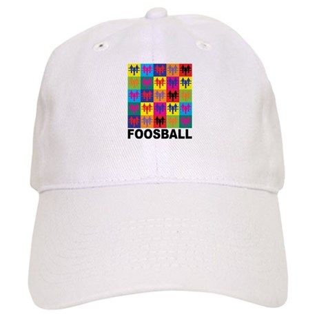 Pop Art Foosball Cap