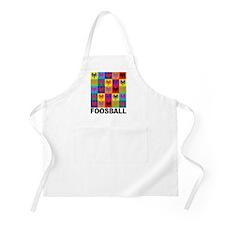 Pop Art Foosball BBQ Apron