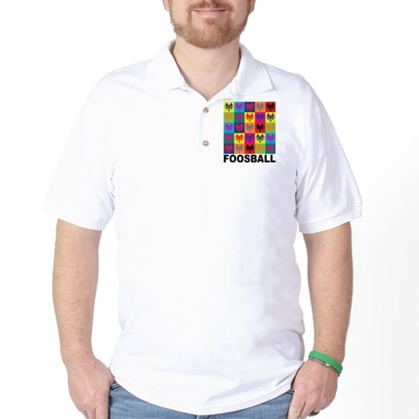 Pop Art Foosball Golf Shirt