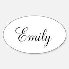 Personalized Black Script Decal
