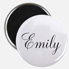 Personalized Black Script Magnets