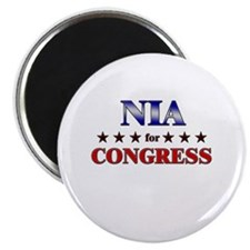 NIA for congress Magnet