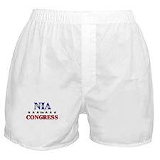 NIA for congress Boxer Shorts