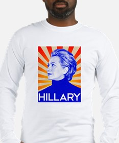 Hillary Clinton for President Long Sleeve T-Shirt