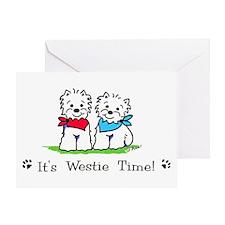 Deedle designs Greeting Card