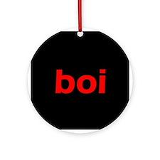 boi Ornament (Round)