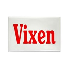 Vixen Rectangle Magnet