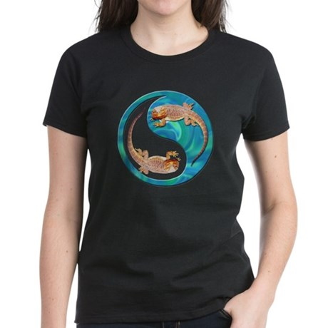 Yin Yang Bearded Dragon Women's Dark T-Shirt