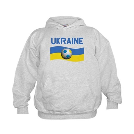TEAM UKRAINE WORLD CUP Kids Hoodie