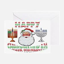 HAPPY CHRISKWANUKAH Greeting Card