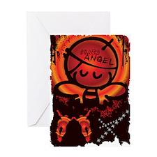 SKATE ANGEL Greeting Card