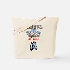 Irish Water Spaniel Tote Bag