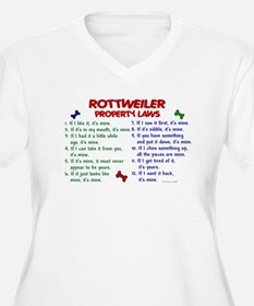 Rottweiler Property Laws 2 T-Shirt