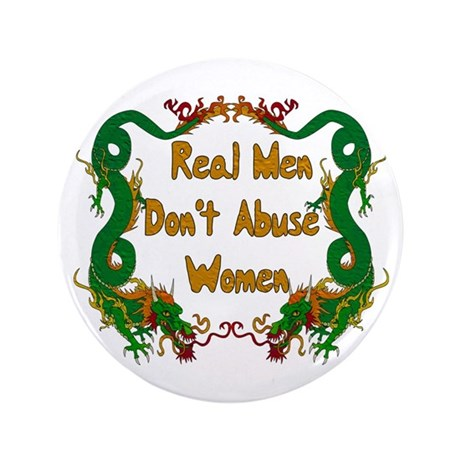 """Ending Domestic Violence 3.5"""" Button (100 pack)"""