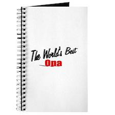 """The World's Best Opa"" Journal"