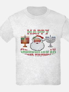 HAPPY CHRISKWANUKAH T-Shirt