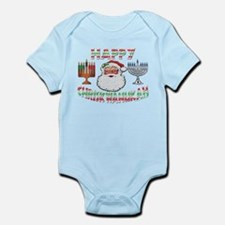 HAPPY CHRISKWANUKAH Onesie