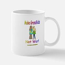MAKE GRANDKIDS NOT WAR 1 Mug