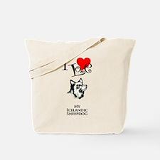 Icelandic Sheepdog Tote Bag