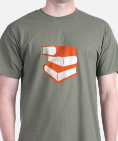 Stack Of Orange Books T-Shirt