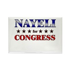 NAYELI for congress Rectangle Magnet