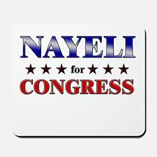 NAYELI for congress Mousepad