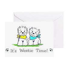 Cool Deedle designs Greeting Card