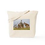 Giraffe Herd Products Tote Bag