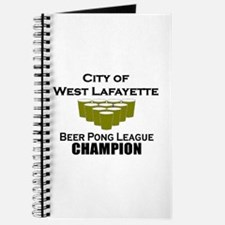 City of West Lafayette Beer P Journal