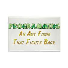Programming Humor Rectangle Magnet (10 pack)