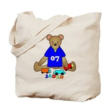 Teddy Bear Trucks Tote Bag