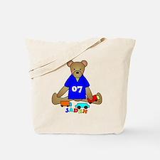 Teddy Bear Trucks Tote Bag