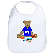 Teddy Bear Trucks Bib