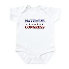NATHALIE for congress Infant Bodysuit