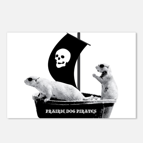Prairie Dog Pirates Postcards (Package of 8)