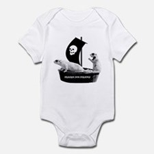Prairie Dog Pirates Infant Bodysuit