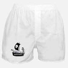 Prairie Dog Pirates Boxer Shorts