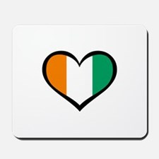 Ivory Coast Love Mousepad