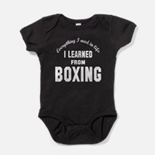 I learned from Boxing Baby Bodysuit